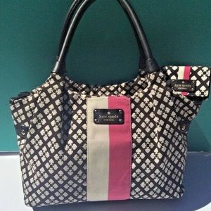 Kate Spade Stevie Tote with matching wallet